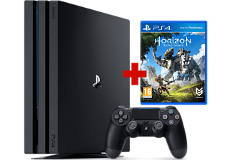 ps4 pro 1 tb noir horizon zero dawn ps4. Black Bedroom Furniture Sets. Home Design Ideas