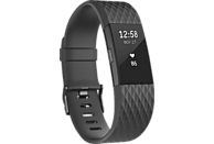 FITBIT Charge 2 Special Edition Small, Activity Tracker, 140-170 mm, Schwarz/Schwarz