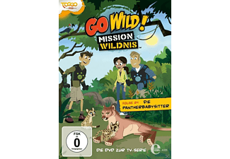 Go Wild!-Mission Wildnis - Vol. 24 - Die Pantherbabysitter - (DVD)
