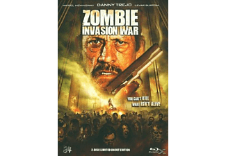 Zombie Invasion War (Mediabook) - (Blu-ray)