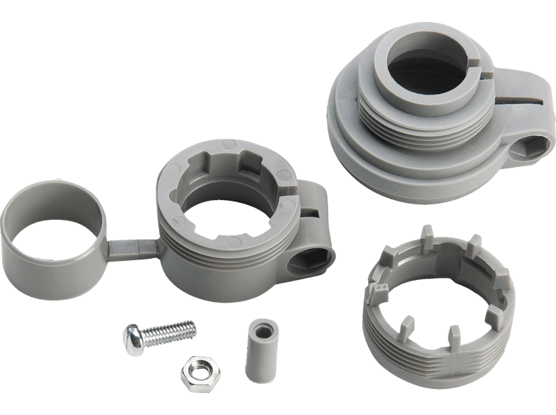 76146 Adapter-Set, Grau/Silber