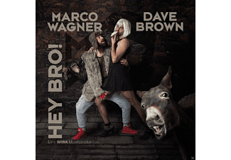 Marco Wagner & Dave Brown - Hey Bro - (5 Zoll Single CD (2-Track))
