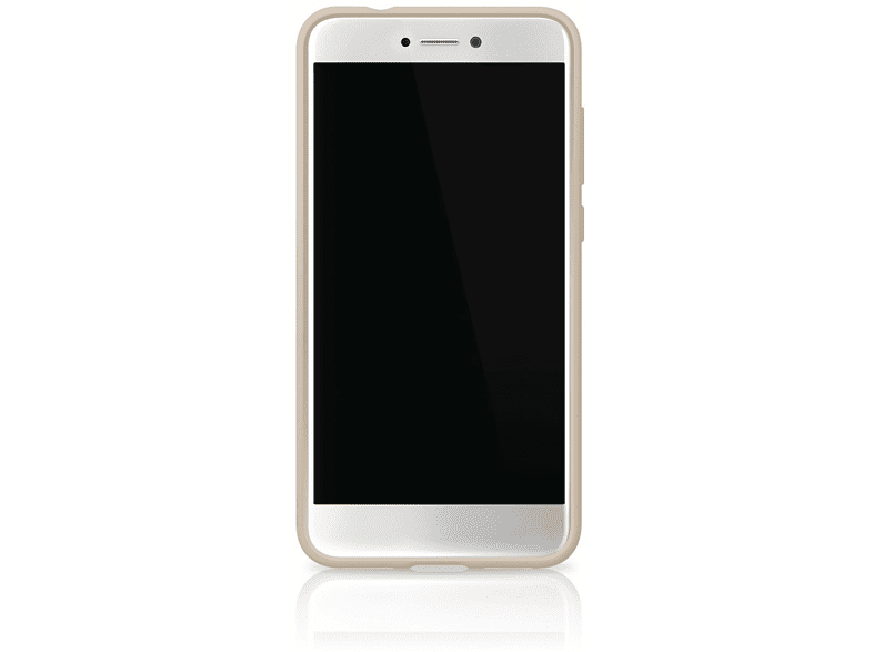 Cover Innocence Clear Backcover Huawei P8 Lite (2017) Polycarbonat (PC)/Thermoplastisches Polyurethan (TPU) Gold | 04260460954190