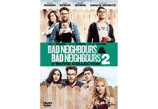 Bad Neighbours 1 + 2 DVD