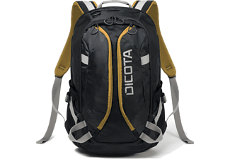 DICOTA D31047 Bacpack Active 14 15.6 Black/Yellow