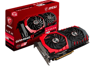 MSI Radeon RX 570 Gaming X 4GB (V341-068R)( AMD, Grafikkarte)