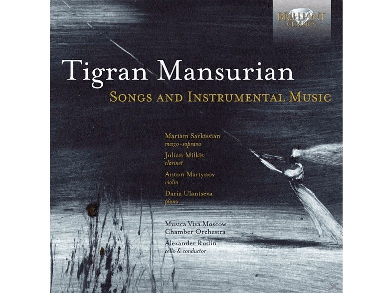 Sarkissian, Musica Viva Moscow Chamber Orchestra - Songs And Instrumental Music [CD]