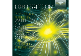 Tetraktis Ensemble - Ionisation-Percussion Music - (CD)