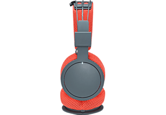 URBANEARS Hellas, On-ear Kopfhörer, Bluetooth, Grau/ Rot