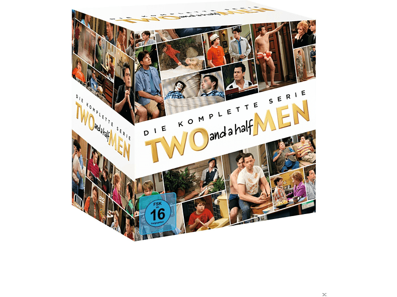 Two And A Half Men - Komplettbox - (DVD)