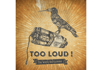 The White Rattlesnake - Too loud! - (CD)