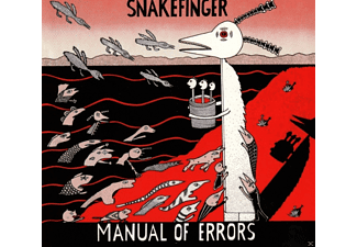 Snakefinger - Manual of Errors - (CD)