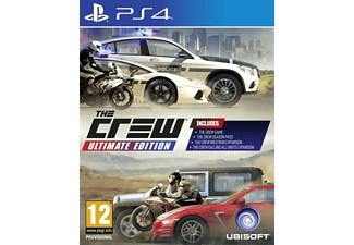 UBISOFT The Crew Ultımate Edition PlayStation 4 Oyun