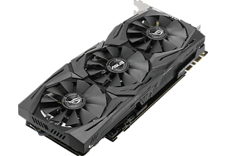 ASUS GeForce GTX 1080 ROG Strix OC 8GB 11Gbps Gaming (90YV09M4-M0NM00)( NVIDIA, Grafikkarte)