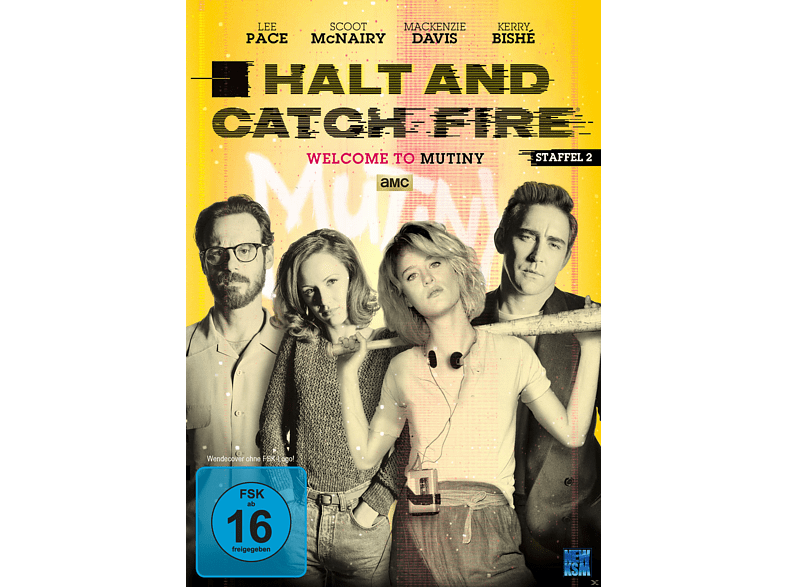 Halt and Catch Fire 2.Staffel [DVD]