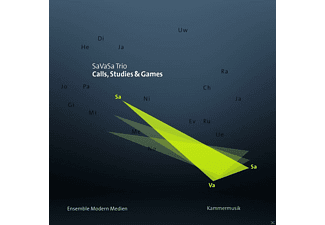 Savasa Trio - Calls,Studies & Games - (CD)