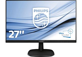PHILIPS 273V7QDAB  Full-HD Monitor (5 ms Reaktionszeit, 60 Hz)