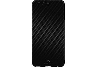 BLACK ROCK Flex Carbon Backcover Huawei P10  Schwarz