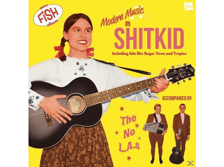 Shitkid - FISH [CD]