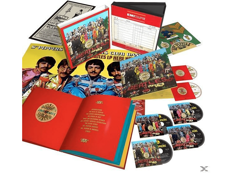 The Beatles - Sgt.Pepper's Lonely Hearts Club Band (50th Anniv.) [CD + DVD Video]