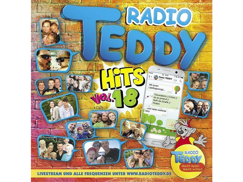 VARIOUS - Radio Teddy Hits Vol.18 - (CD)
