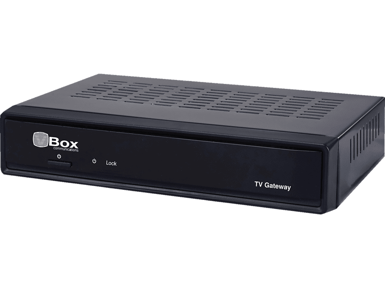 SMART VBox XTi-3442 TV Gateway TV Server (HDTV, PVR-Funktion, Twin Tuner, DVB-T2 HD, DVB-C, Schwarz)