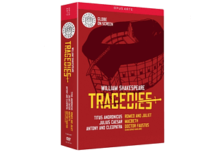 William Shakespeare - Tragedies - (DVD)