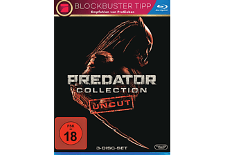 Predator Collection 1-3 Uncut - (Blu-ray)