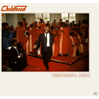 Childhood - UNIVERSAL HIGH (RED VINYL+MP3) [LP + Download]