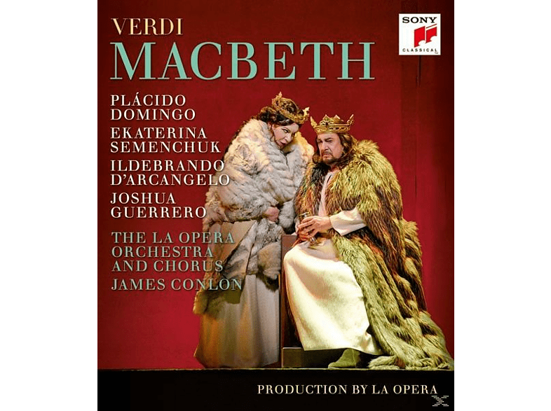 Plácido Domingo - Macbeth [Blu-ray]