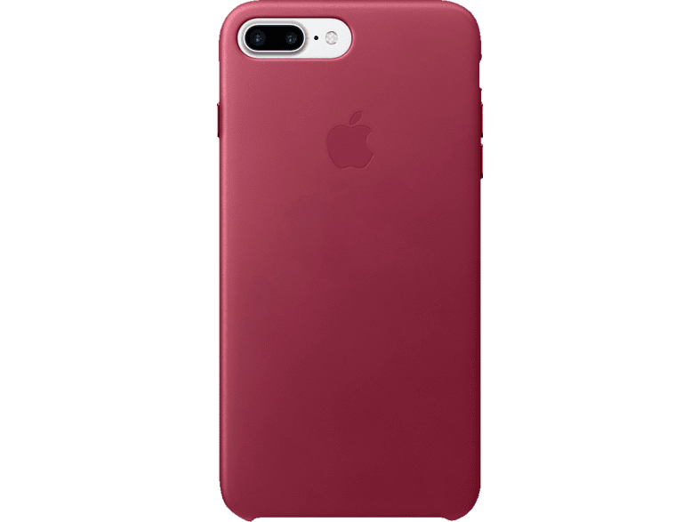 APPLE Leder Case Backcover Apple iPhone 7 Plus Echtleder Beere | 00190198376404
