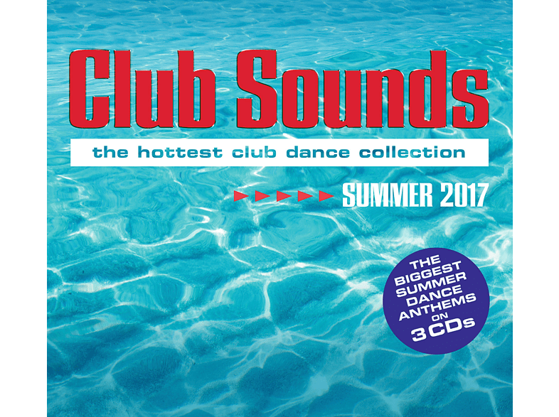 VARIOUS - Club Sounds Summer 2017 [CD]