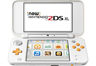 NINTENDO New Nintendo 2DS XL (Weiß/Orange)