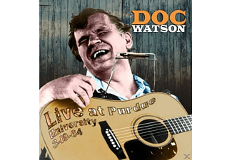 Doc Watson - LIVE AT PURDUE UNIVERSITY - (CD)