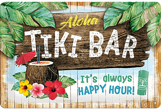 Tiki Bar Blechschild It's Always Happy Hour