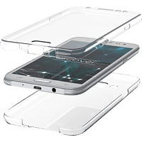 AGM TPU Full Cover Samsung Galaxy S8 Kunststoff Transparent
