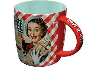 "Say it 50's Tasse ""HAVE A COFFEE"""
