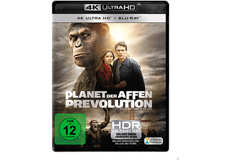 Planet der Affen - Prevolution - (4K Ultra HD Blu-ray + Blu-ray)