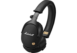 MARSHALL Monitor, Over-ear Kopfhörer, Headsetfunktion, Bluetooth, Schwarz