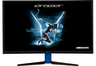 MEDION Erazer X57425 27 Zoll Full-HD Gaming Monitor (1x USB-Hub, 1x DVI, 1x HDMI, 1x DVi-D, 1x Display-Port Kanäle, 4 ms (Grey-to-Grey) Reaktionszeit, FreeSync, 144 Hz)