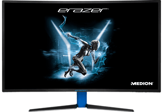 MEDION Erazer X58426 31.5 Zoll Full-HD Gaming Monitor (4 ms (Grey-to-Grey) Reaktionszeit, FreeSync, 144 Hz)