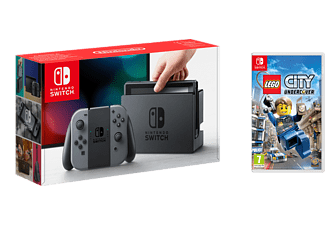 NINTENDO Switch - Grå (inkl Lego City Undercover)