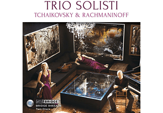 The Trio Solisti - TCHAIKOVSKY & RACHMANINOFF [CD]
