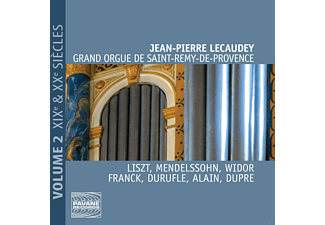 Jean Pierre Lecauday - GRAND ORGUE DE SAINT-REMY - DE-PROVENCE 2 - (CD)