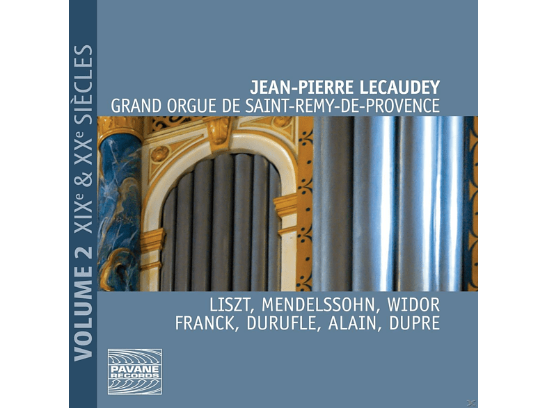 Jean Pierre Lecauday - GRAND ORGUE DE SAINT-REMY - DE-PROVENCE 2 [CD]