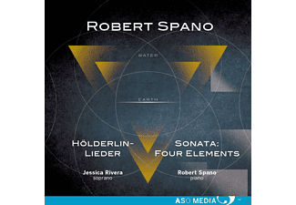 Rivera,Jessica/Spano,Robert - Hölderlin-Lieder/Sonata Four Elements - (CD)