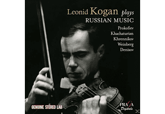 Leonid Kogan, Boston Symphony Orchestra - LEONID KOGAN PLAYS RUSSIAN MUSIC - (CD)