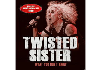 Twisted Sister - WHAT YOU DONT KNOW/RADIO BROADCAST 1980 - (CD)