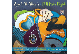 Lunch At Allen's - IF IT FEELS RIGHT - (CD)