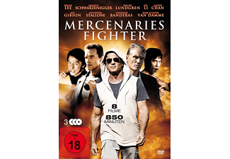 Mercenaries Fighter (8 Filme auf 3 Discs) - (DVD)